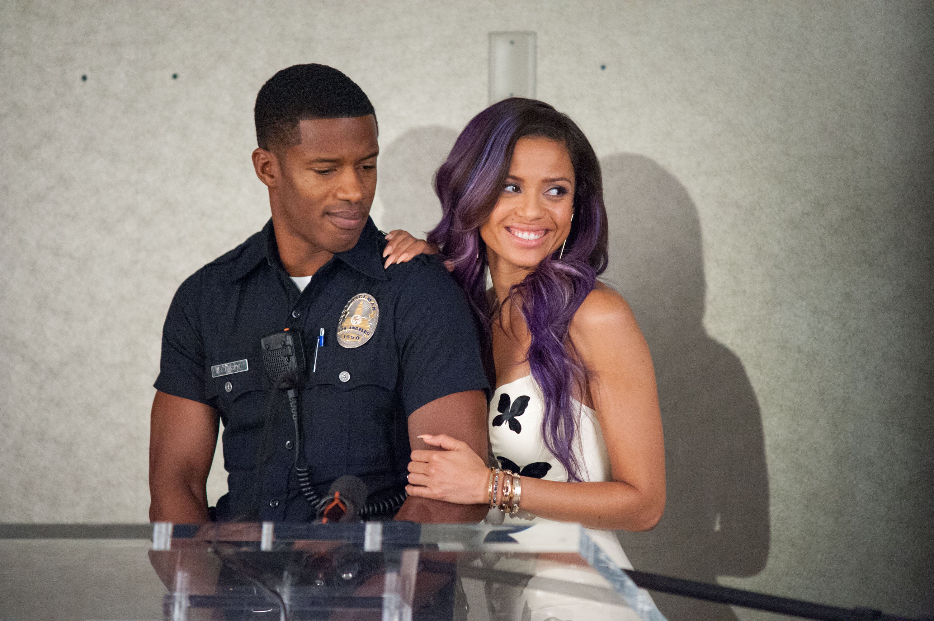 "Nate Parker and Gugu Mbatha-Raw in ""Beyond the Lights"""