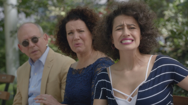 "Bob Balaban, Susie Essman & Ilana Glazer in ""Broad City"" Season 3"