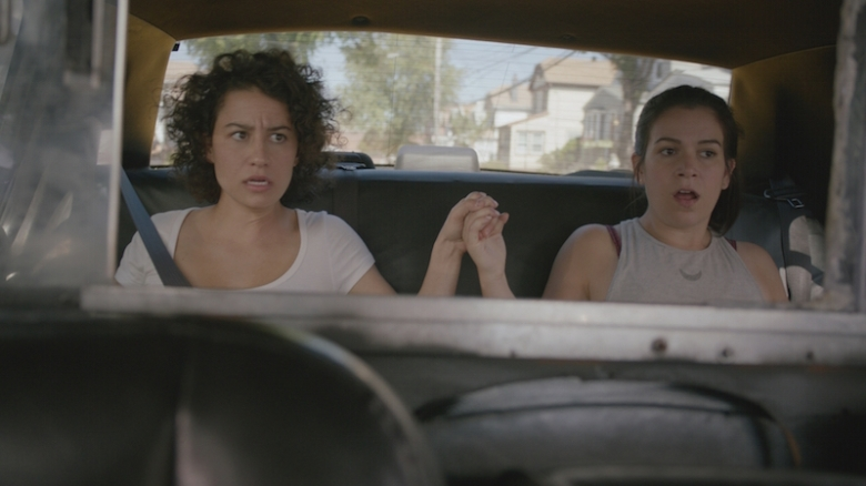 photo of Ilana Glazer  - car