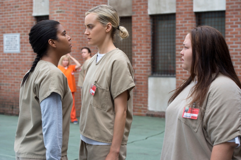 "Taylor Schilling in ""Orange is the New Black"" Season 4"