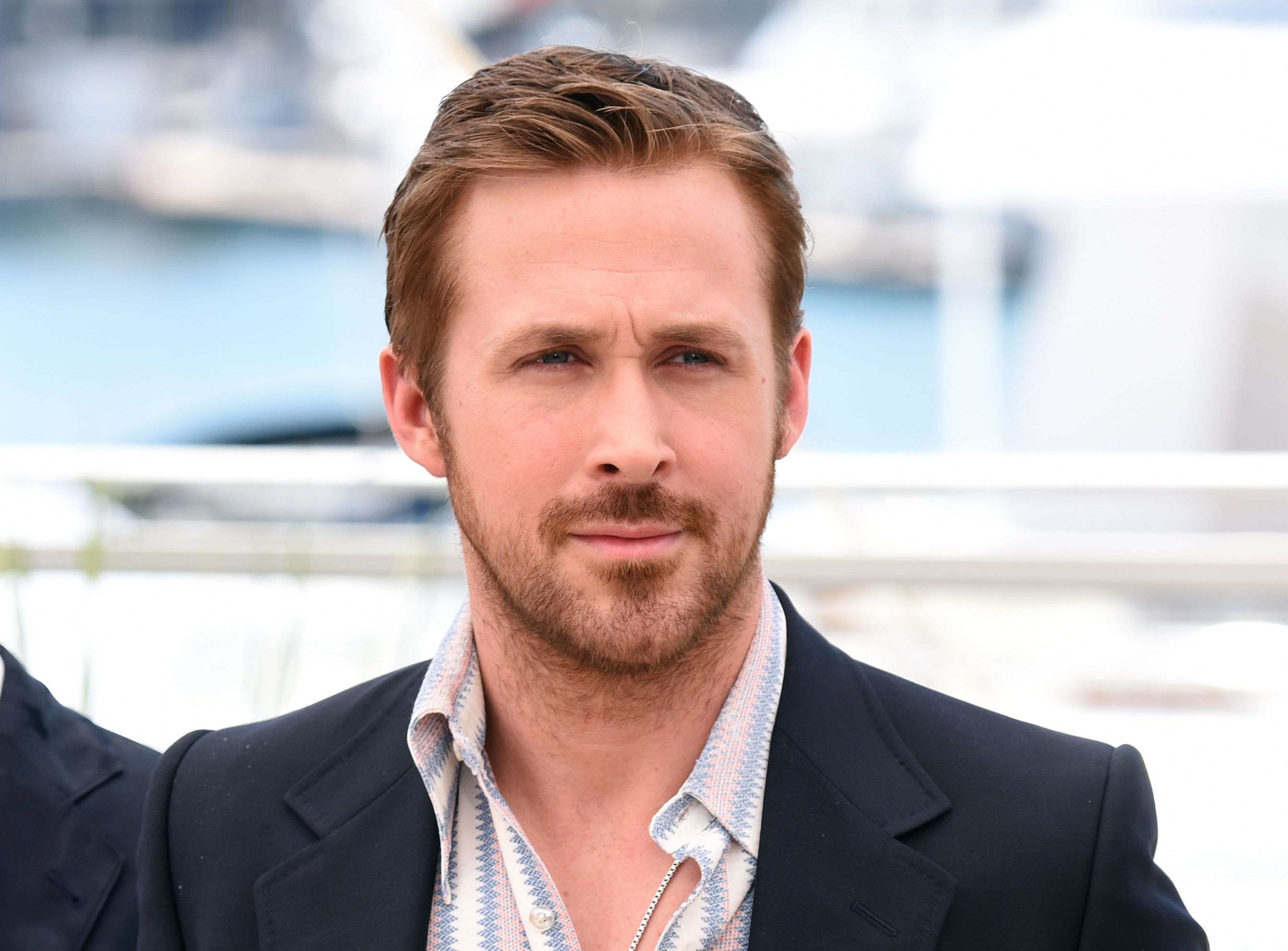 Cannes: Ryan Gosling Says Russell Crowe Phoned It In on ... Ryan Gosling