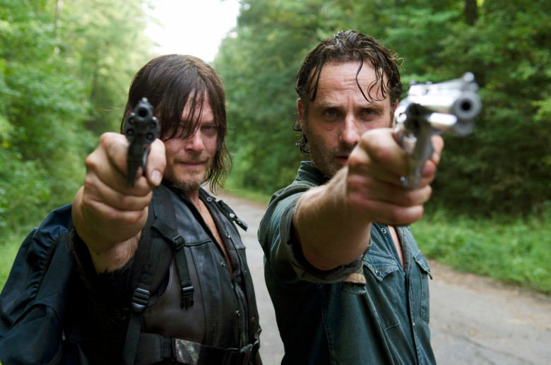 The Walking Dead Norman Reedus & Andrew Lincoln