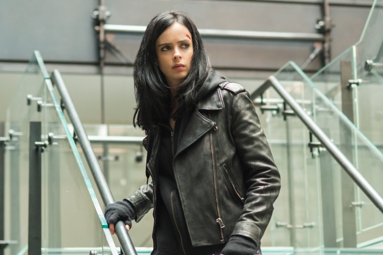 "Krysten Ritter in ""Marvel's Jessica Jones."""