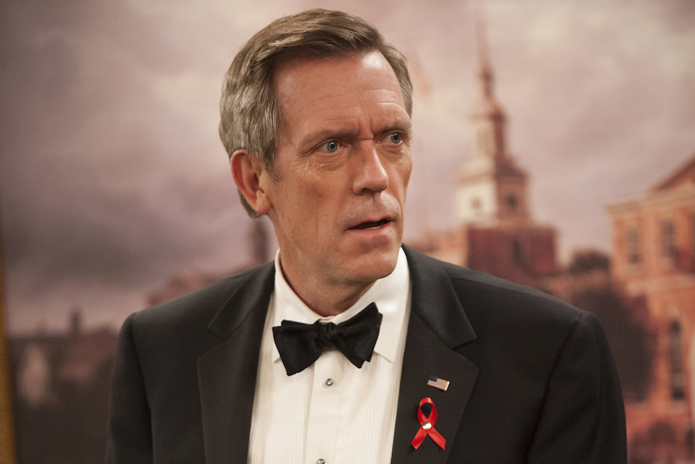 "Hugh Laurie in ""Veep"" Season 5"