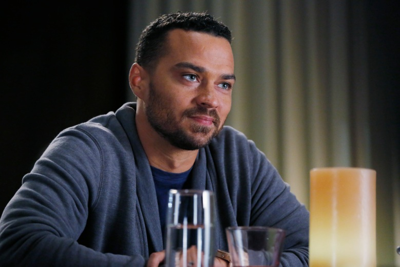 "Jesse Williams in ""Grey's Anatomy."""