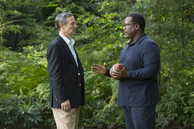 "Bill Irwin and Wendell Pierce in ""Confirmation."""