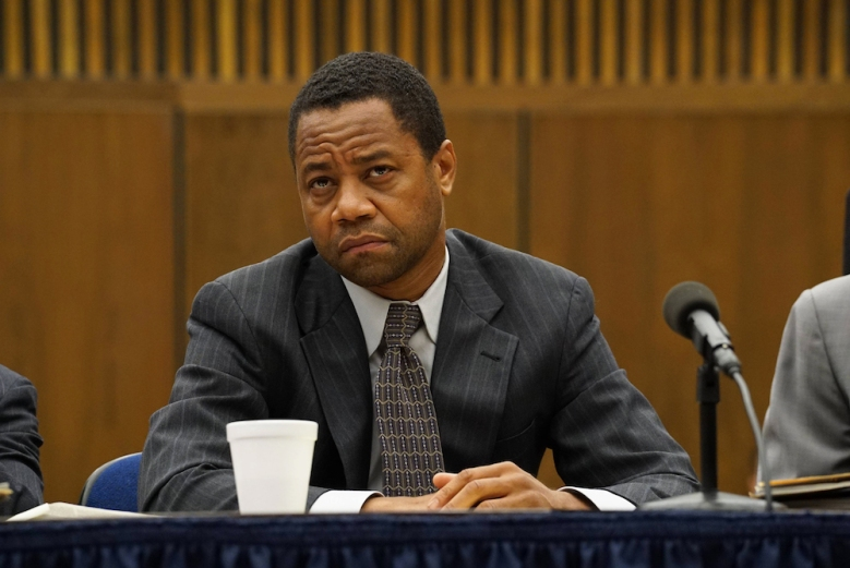 """THE PEOPLE v. O.J. SIMPSON: AMERICAN CRIME STORY """"Manna From Heaven"""" Episode 109 (Airs Tuesday, March 29, 10:00 pm/ep) -- Pictured: Cuba Gooding, Jr. as O.J. Simpson. CR: Byron Cohen /FX"""