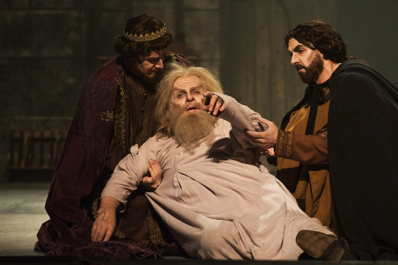 """Anthony Hopkins in """"The Dresser"""""""
