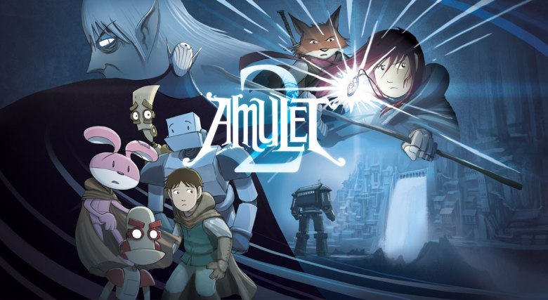 Amulet Graphic Novel Series Being Adapted By Aaron