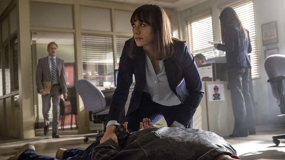 "Rashida Jones in ""Angie Tribeca"" Season 2"