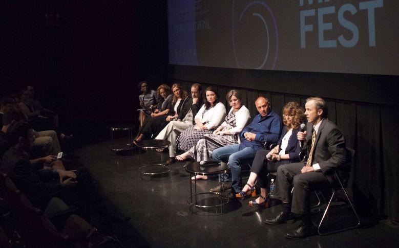 """The """"Newtown"""" panel at BAMcinemaFest"""