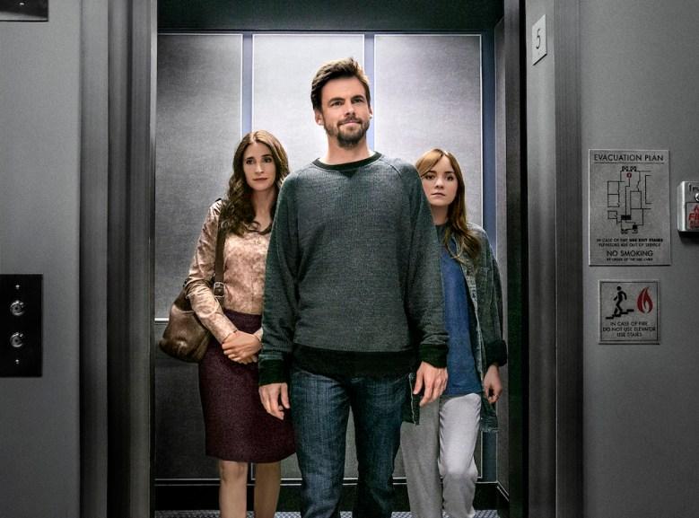 """Michaela Watkins, Tommy Dewey & Tara Lynne Barr in """"Casual"""" Season 2"""