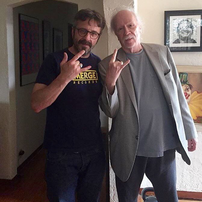 Marc Maron and John Carpenter