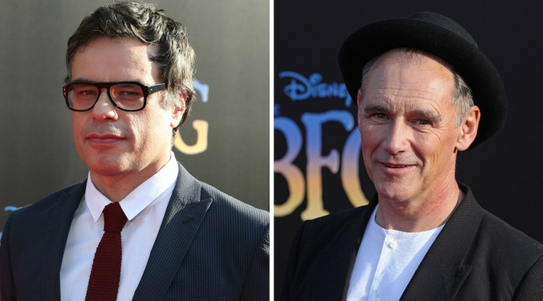 Jemaine Clement and Mark Rylance