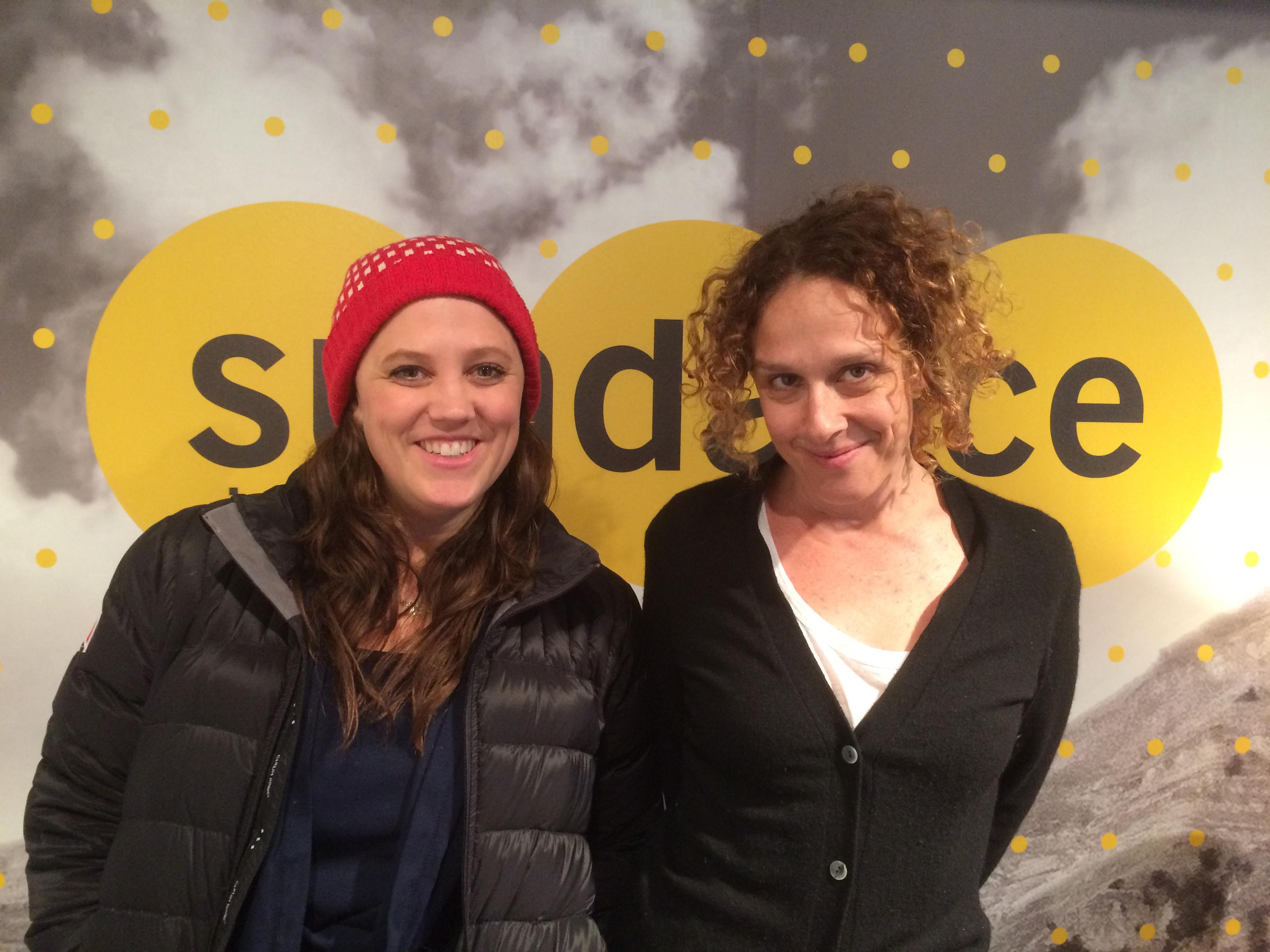 Heidi Ewing and Rachel Grady