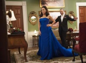 """Julia Louis-Dreyfus & Tony Hale in """"Veep"""" Season 5"""