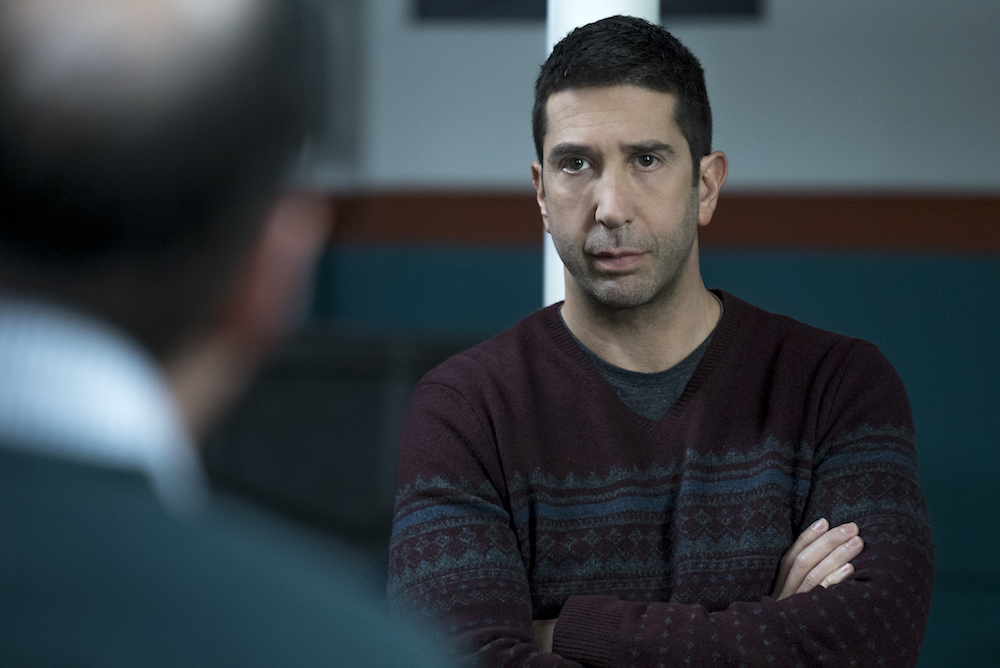 David Schwimmer as Tommy Moran - Feed The Beast _ Season 1, Episode 2 - Photo Credit: Ali Paige Goldstein/Lionsgate Television/AMC