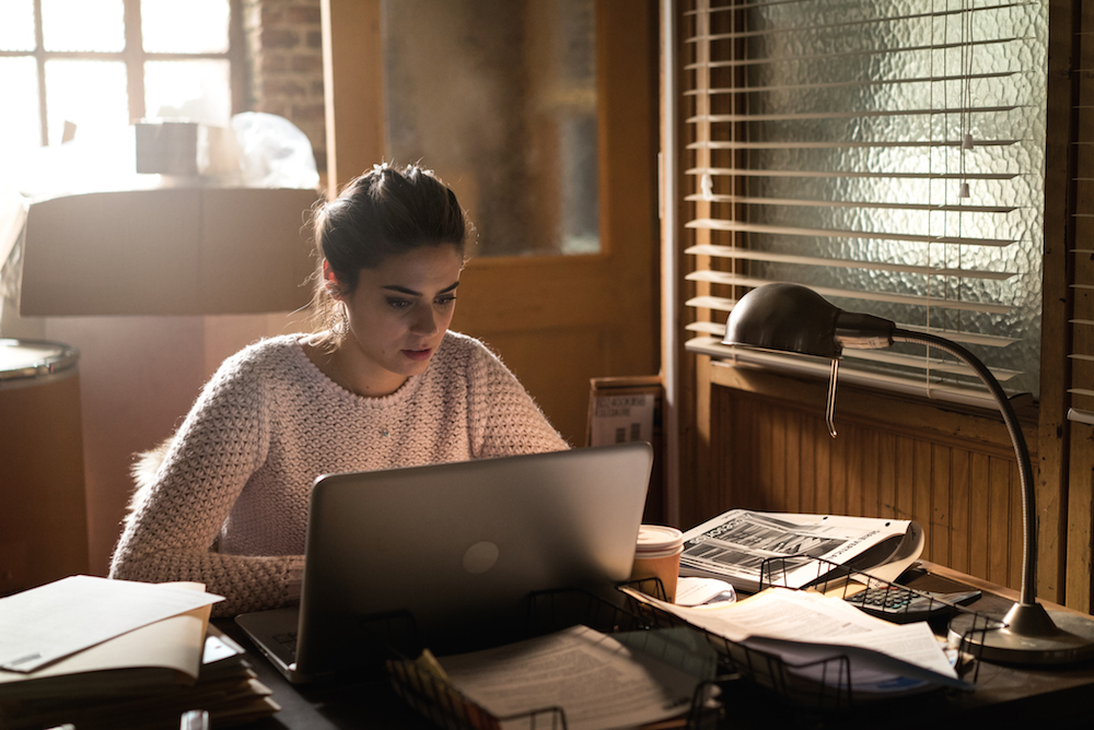 Lorenza Izzo as Pilar Herrera; single - Feed The Beast _ Season 1, Episode 3 - Photo Credit: Ali Paige Goldstein/Lionsgate Television/AMC