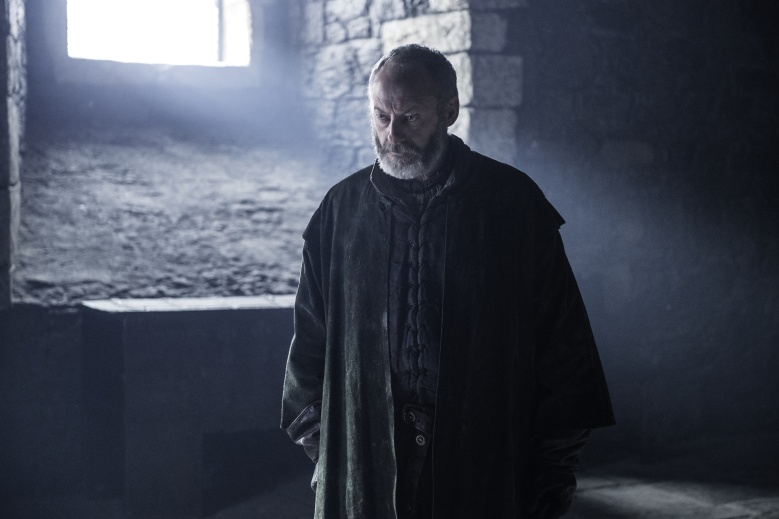 Liam Cunningham as Davos Seaworth in Game of Thrones