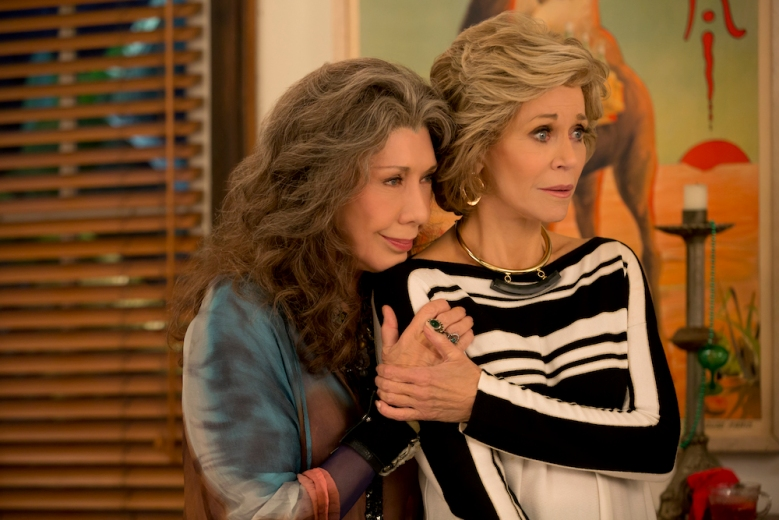 Grace and Frankie Season 2 Lily Tomlin & Jane Fonda