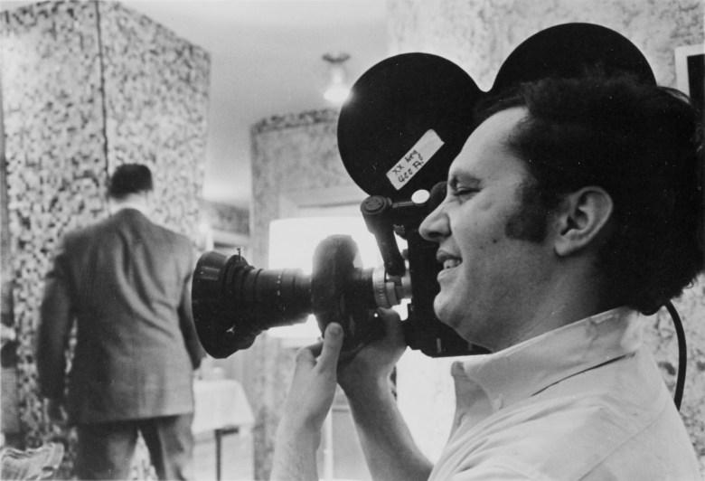 """Gordon Quinn shooting """"Thumbs Down,"""" 1967"""