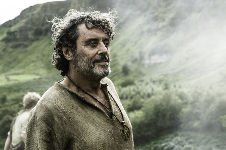 "Ian McShane in ""Game of Thrones."""