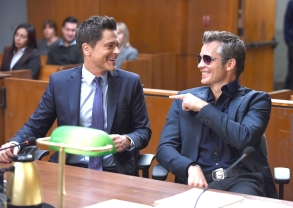 """The Grinder"" Rob Lowe & Timothy Olyphant"
