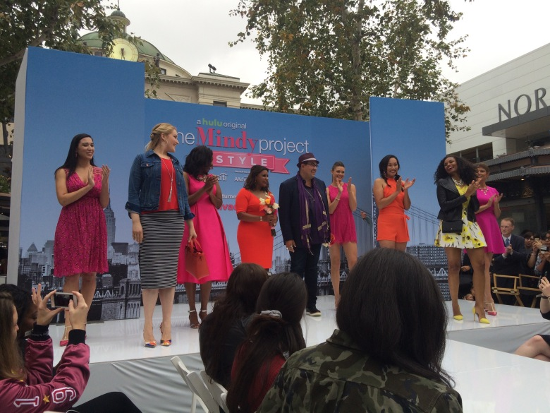 "Mindy Kaling, Salvator Perez and models at ""The Mindy Project"" FYC event."
