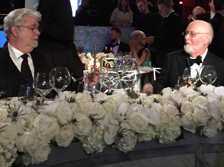 George Lucas and John Williams