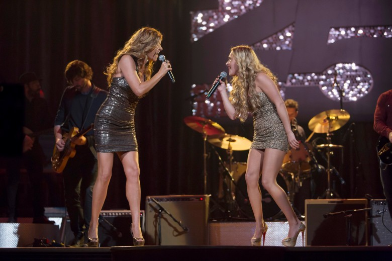"Connie Britton and Hayden Panettiere in ""Nashville."""