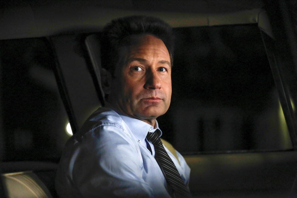 """AQUARIUS -- """"Why Don't We Do It in The Road?"""" Episode 203 -- Pictured: David Duchovny as Sam Hodiak -- (Photo by: Vivian Zink/NBC)"""
