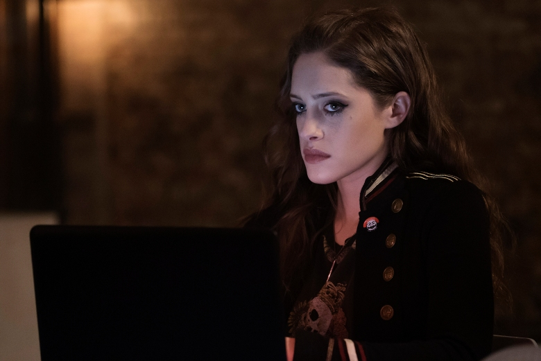 "Carly Chaikin in ""Mr. Robot."""