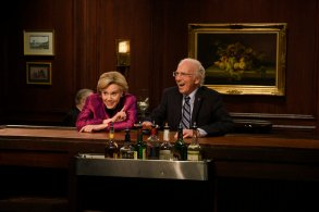 "Kate McKinnon and Larry David, ""Saturday Night Live"""