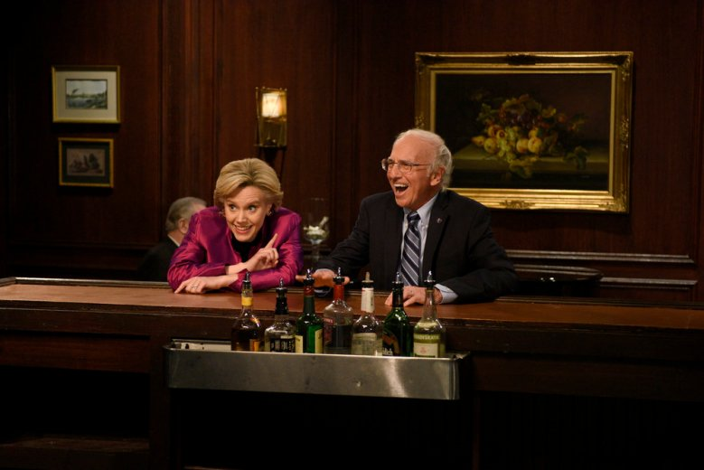 "Kate McKinnon and Larry David, ""Saturday Night Live"""