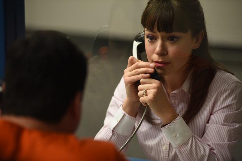 "Kristian Bruun and Tatiana Maslany in ""Orphan Black."""