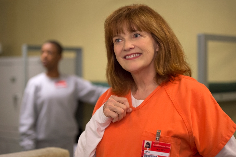 "Blair Brown in ""Orange is the New Black."""
