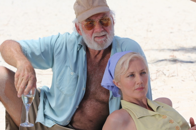 "Adrian Sparks and Joely Richardson in ""Papa Hemingway in Cuba"""