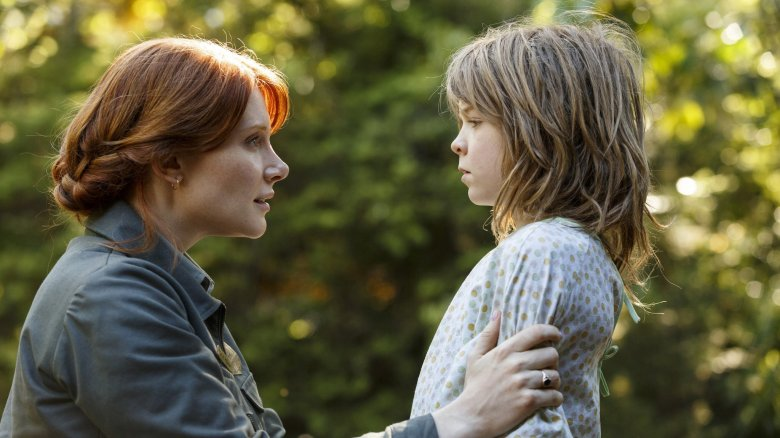 Bryce Dallas Howard and Oakes Fegley in David Lowery's Pete's Dragon