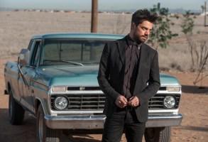 "Dominic Cooper in ""Preacher."""