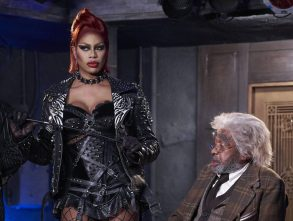 """Laverne Cox and Ben Vereen in """"The Rocky Horror Picture Show."""""""