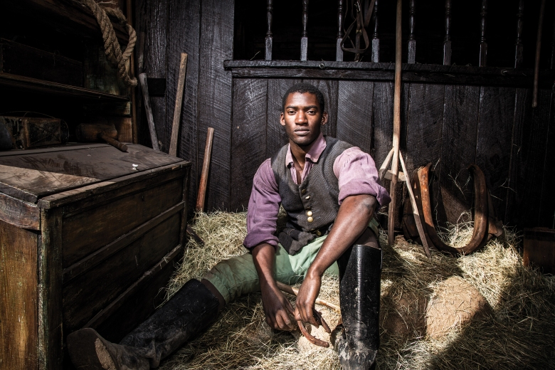 "Malachi Kirby in ""Roots."""