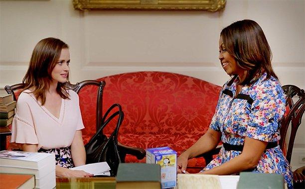 Alexis Bledel Michelle Obama