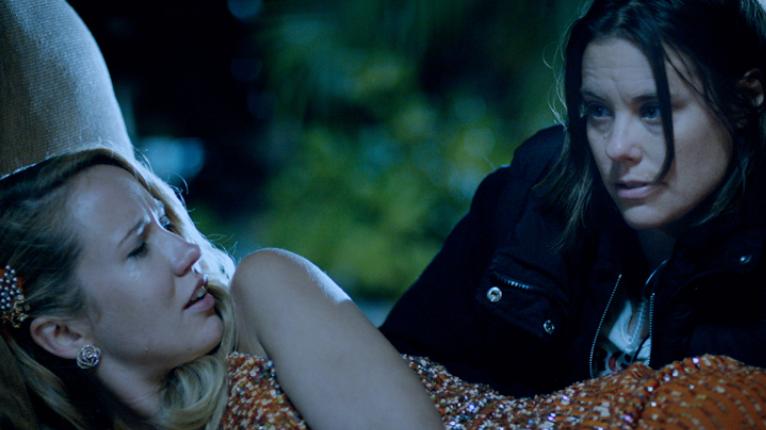 Jessica (Anna Camp) and Rebecca (Ashley Williams)