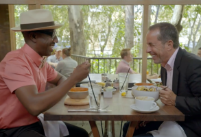 JB Smoove and Jerry Seinfeld