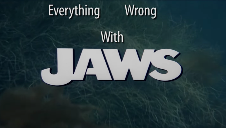 "Cinema Sins' ""Everything Wrong With 'Jaws' in 9 Minutes or Less"""