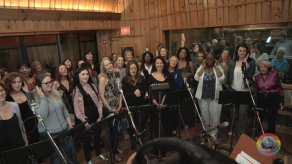 """Many powerful voices of Broadway came together to sing """"What the World Needs Now"""" in honor of the victims in Orlando"""