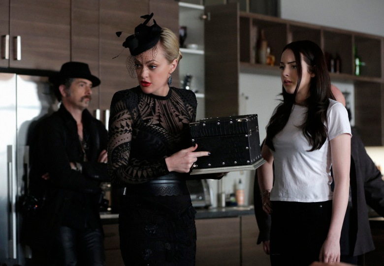"John Ales, Elaine Hendrix and Elizabeth Gillies in ""Sex&Drugs&Rock&Roll."""