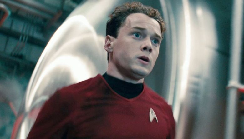 Anton Yelchin in Star Trek Into Darkness