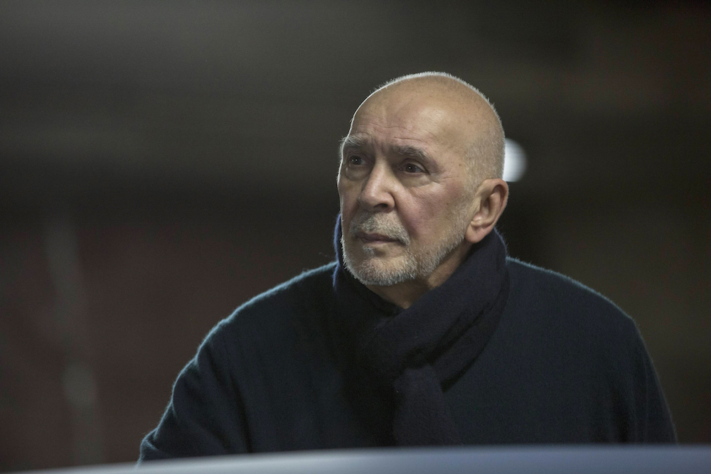 "THE AMERICANS -- ""Clark's Place"" Episode 405 (Airs, Wednesday, April 13, 10:00 pm/ep) -- Pictured: Frank Langella as Gabriel. CR: Eric Liebowitz/F"