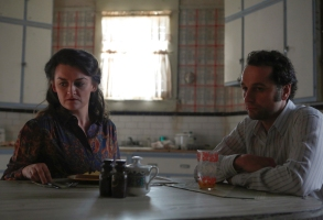 "Alison Wright and Matthew Rhys in ""The Americans"""
